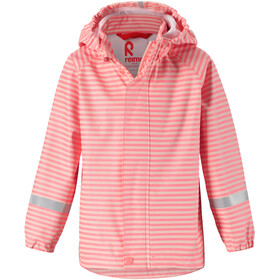 Reima Vesi Raincoat Girls Soft Peach